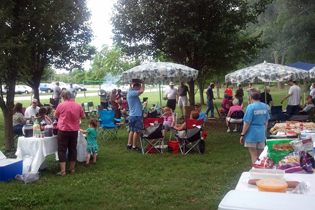 The annual BRCC Picnic at Fletcher Park was a big success with plenty of food, fun, games, and fellowship for everyone.